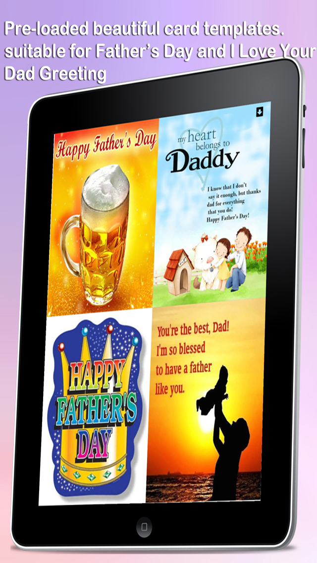 I Love Your Dad e-Cards - Express appreciation and love to your dearest father screenshot 1