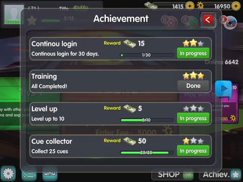 iSnooker screenshot 10