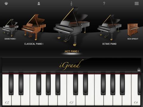iGrand Piano FREE for iPad screenshot 1