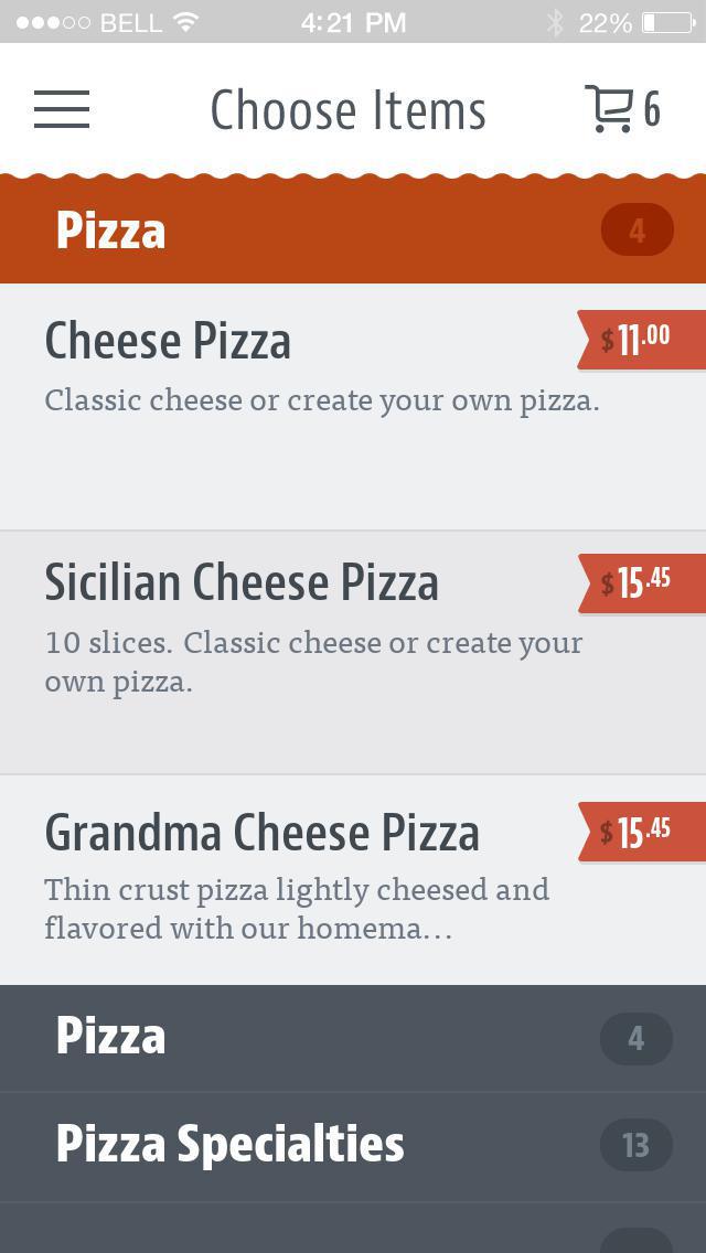 La Casa Pizza & Pasta screenshot 3