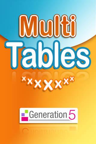 Multi Tables - náhled