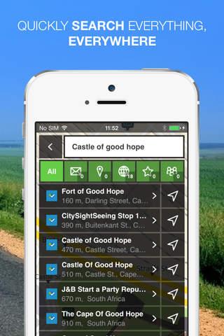 NLife Africa Premium - Offline GPS Navigation & Ma - náhled