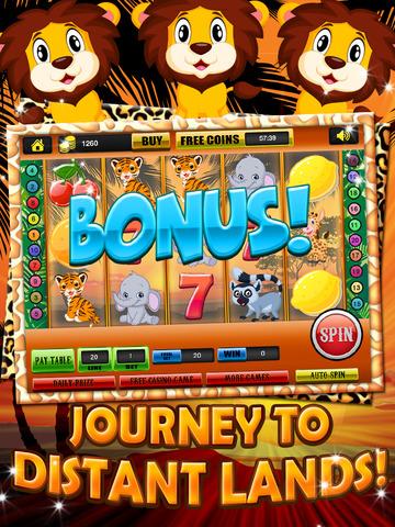 Ace Classic Vegas Baby Tiger Slots - Lucky Safari Gambling Casino Slot Machine Games Free screenshot 8