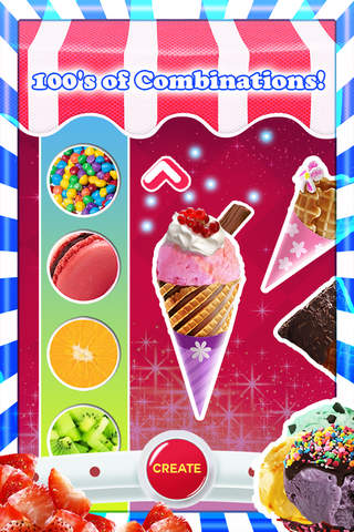 An Ice Cream Parlour Game FREE!! Make cones with f - náhled