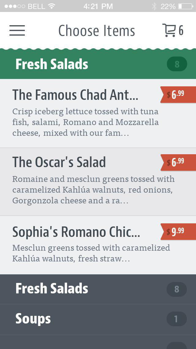 Chad Anthony's Italian Grille screenshot 3
