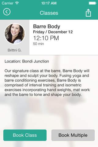 Barre Body - náhled