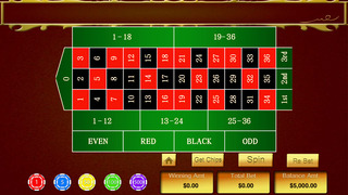 A High Roller Casino Roulette Pro - win Las Vegas gambling chips screenshot 3