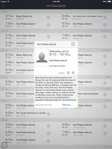 Hot Pilates Secret screenshot 5