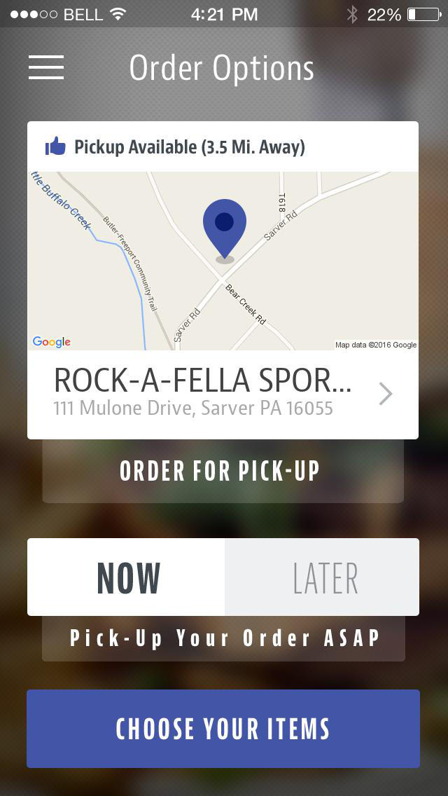 Rock-A-Fellas Sports Grille screenshot 2