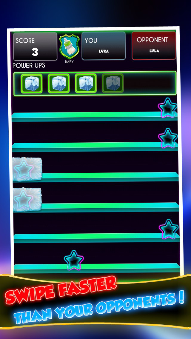 Neon Star – Swipe With Friends screenshot 2