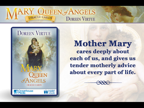Mary, Queen of Angels Oracle Cards - Doreen Virtue, Ph.D. screenshot 4