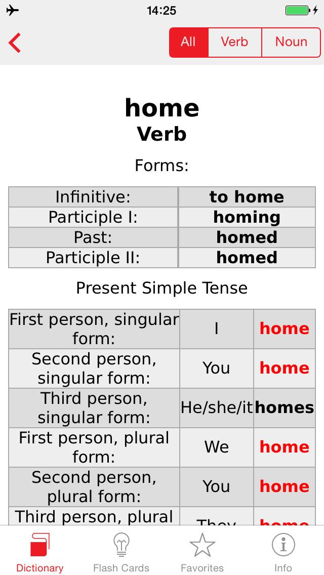 English - Spanish Berlitz Basic Talking Dictionary screenshot 5