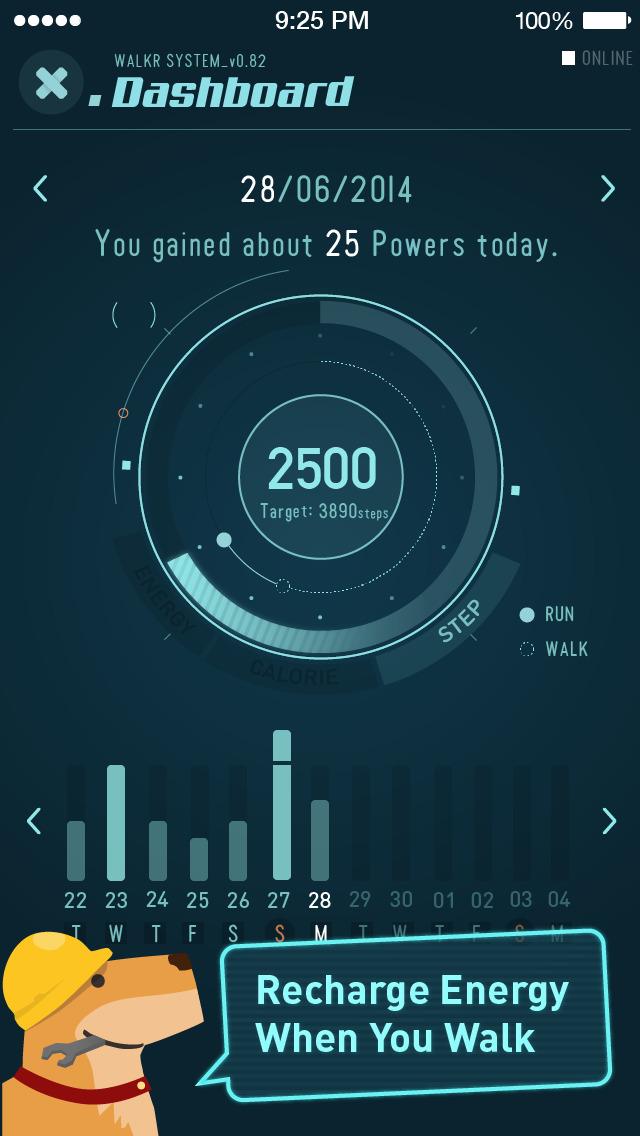 Walkr - A Gamified Fitness App screenshot 3