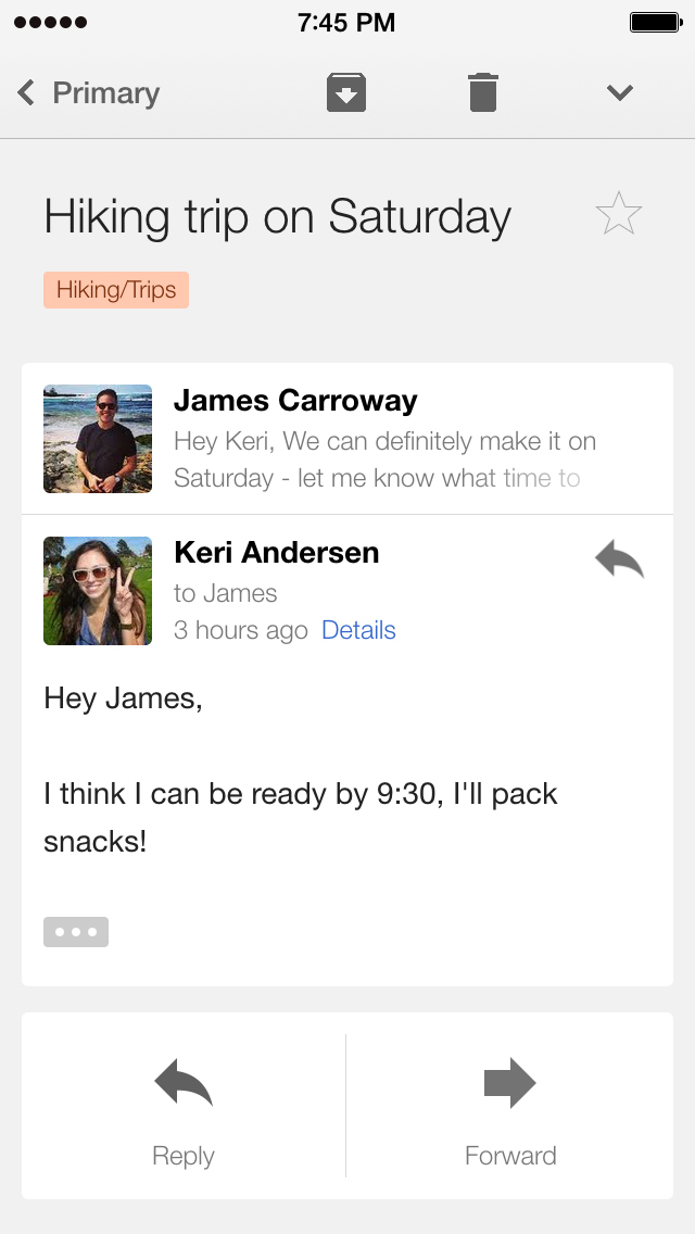 Gmail - Email by Google screenshot 2