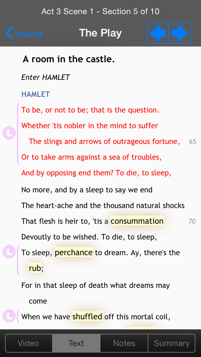 Shakespeare In Bits: Hamlet screenshot 2