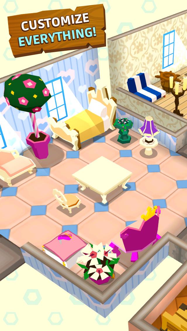 Castaway Paradise Town Builder screenshot 5