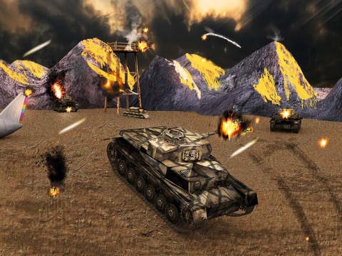 Tank Strike Battle 3D screenshot 9