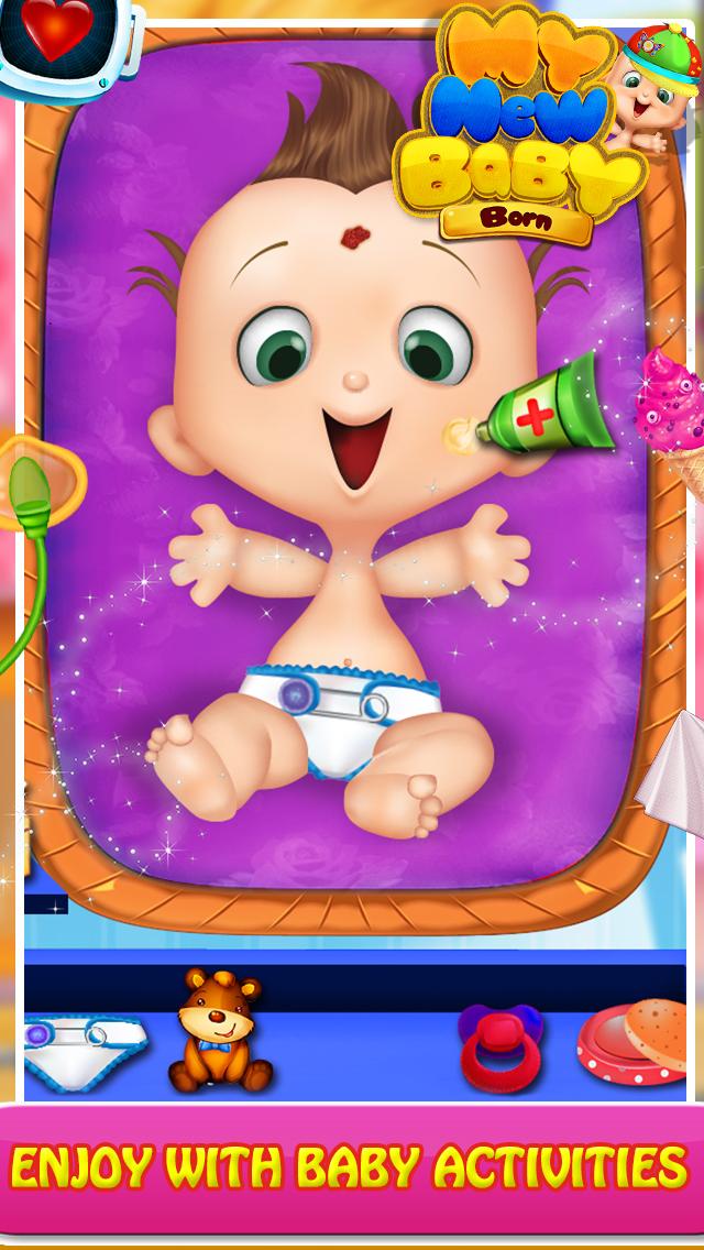 My New Born Baby Game screenshot 1