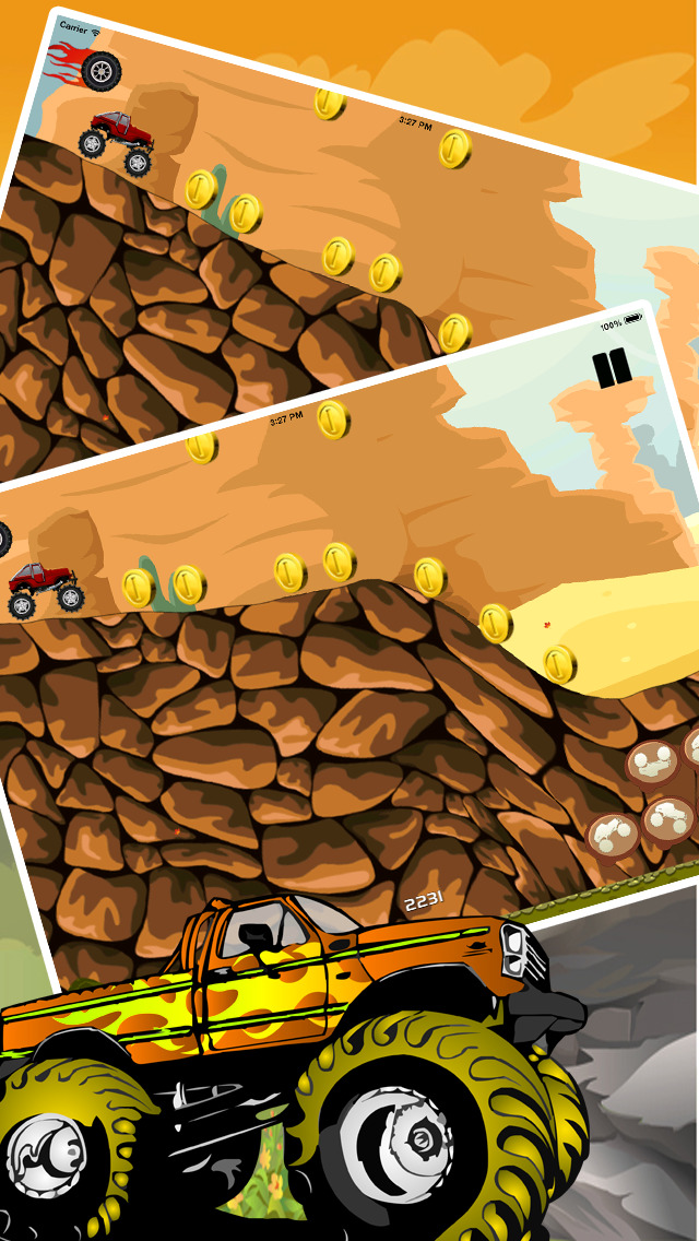 Angry Monster Truck Showdown screenshot 4