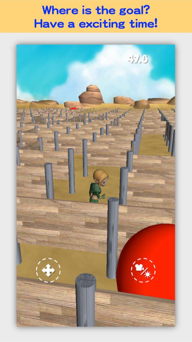 3D Maze Robo FREE screenshot 2
