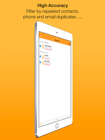 Clean Contacts Pro - Cleans and removes duplicate contacts in your Contacts Book screenshot 8