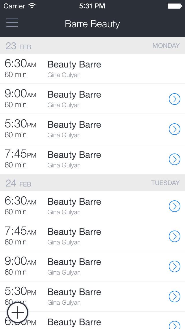 Barre Beauty screenshot 1