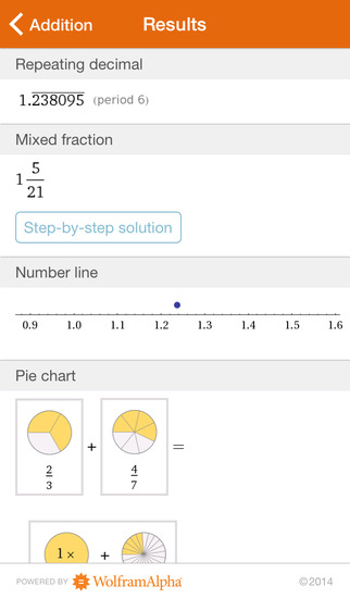 Wolfram Fractions Reference App screenshot 3