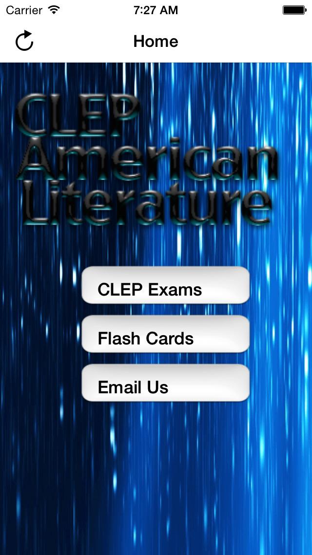 CLEP American Literature Prep screenshot 1