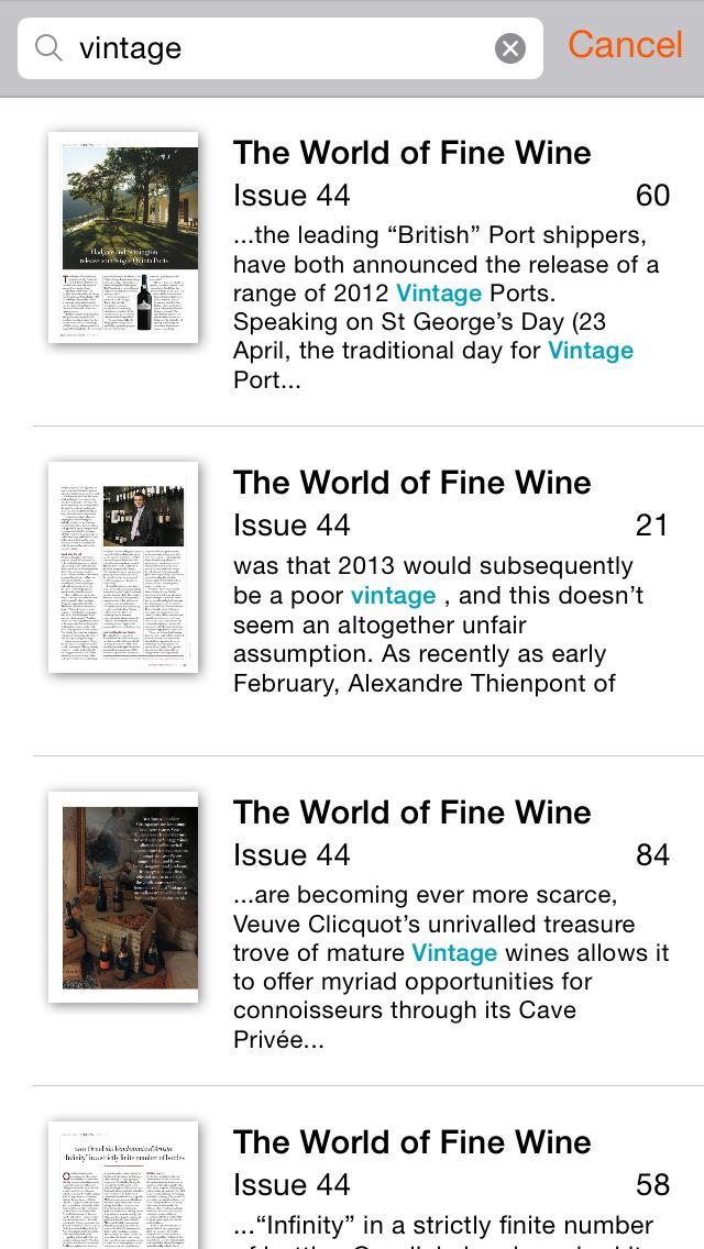 World of Fine Wine screenshot 4