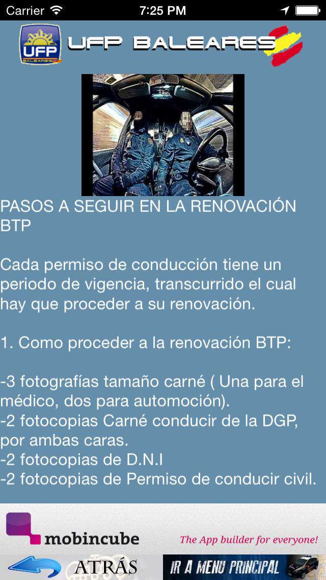 UFP BALEARES - Unión Federal de Policía screenshot 5