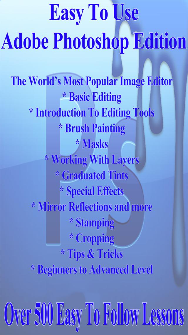 Easy To Learn : Adobe Photoshop Edition screenshot 1