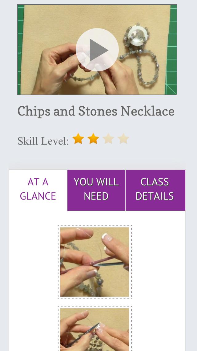 Wire Knitting Jewelry screenshot 5