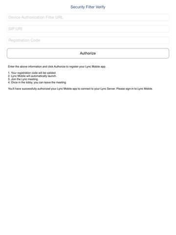 Security Filter Verify - náhled