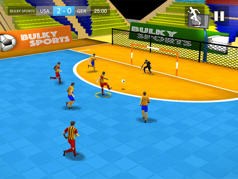 Indoor Soccer 2015: Ultimate futsal football game in beautiful arena by BULKY SPORTS [Premium] screenshot 6
