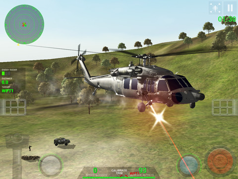 Helicopter Sim Hellfire screenshot 7