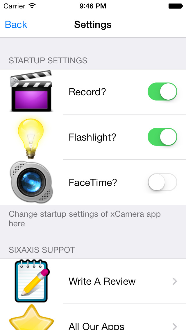 xCamera PRO + Quick One Tap To Display & Record Videos screenshot 2