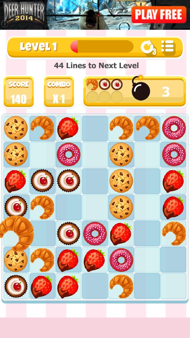 Bake Shop Blitz: The Bakery Match Game screenshot 1