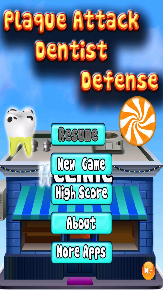 Free Game Plaque Attack Dentist Defense screenshot 5