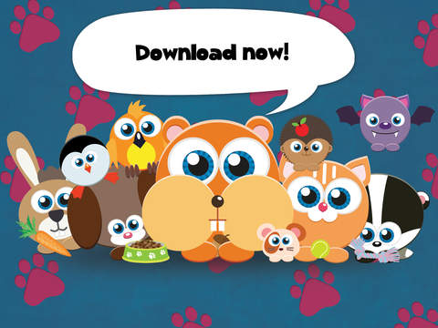 Play with Baby Pets - The 1st Sound Game for a toddler and a whippersnapper free screenshot 10