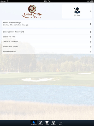 Salish Cliffs Golf Club screenshot 7