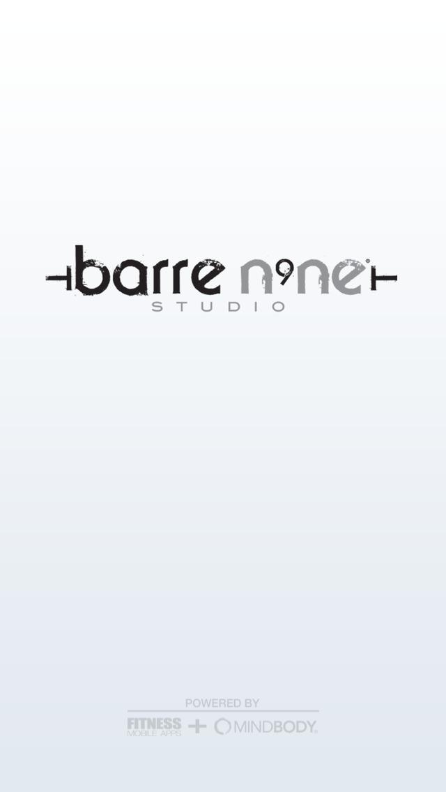 barre n9ne® studio screenshot #1