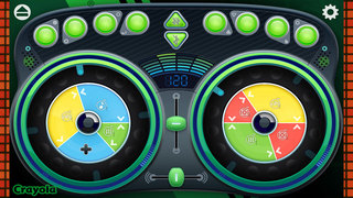 Crayola DJ screenshot 2