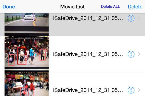 iSafeDrive - náhled