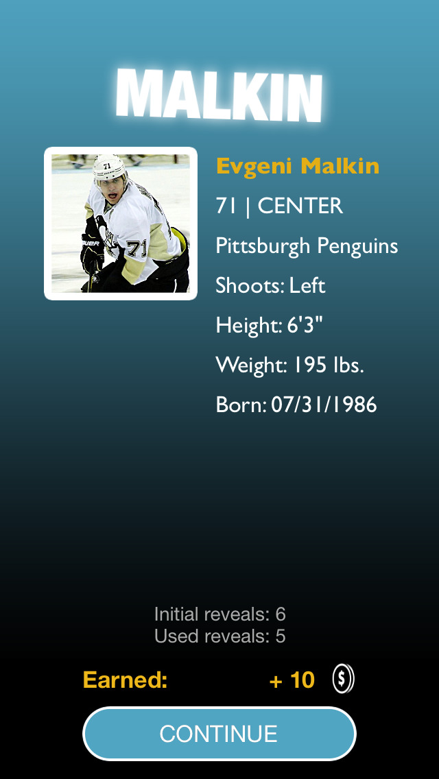 Ice Hockey Top Players 2014-2015 Quiz Game – Guess The League's Big Stars (NHL edition) screenshot 4