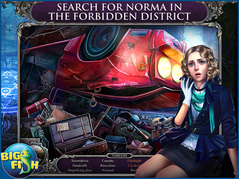 Mystery Trackers: Blackrow's Secret HD - A Hidden Object Detective Game screenshot 2