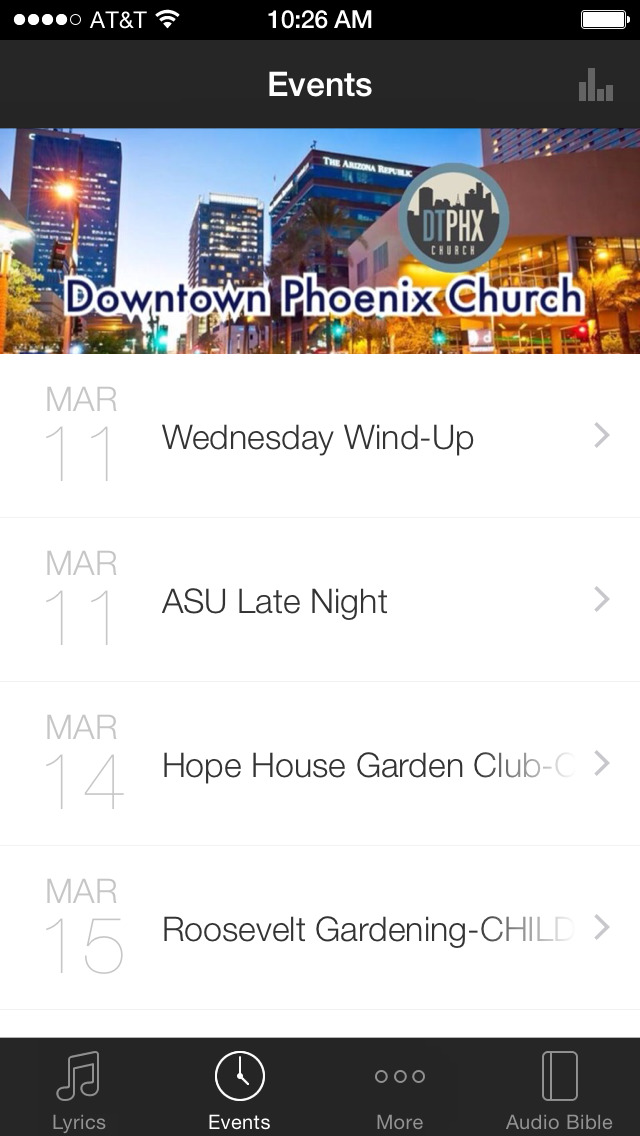 DTPHXCHURCH screenshot 2