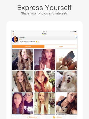 MeowChat-Live Video Chat&Call screenshot 8