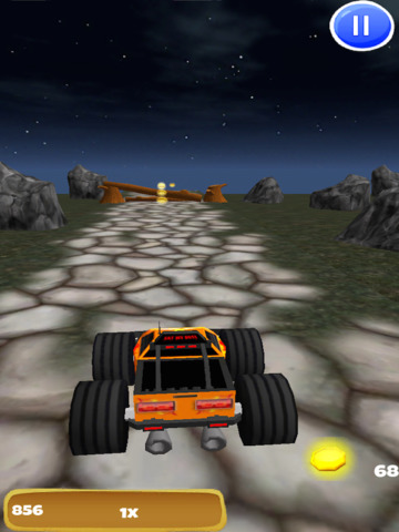 A Monster Truck Game 3D: 4x4 Off-Road Racing - FREE Edition screenshot 7