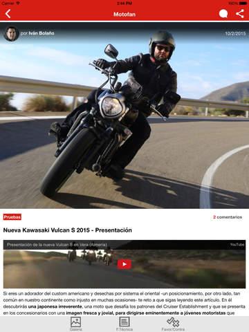 Motofan: Expertos en Motos - náhled
