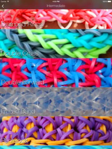 Loom Band Designs for Rainbow Loom screenshot 6
